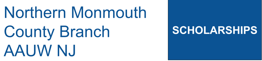 Northern Monmouth County Branch NJ AAUW Scholarships